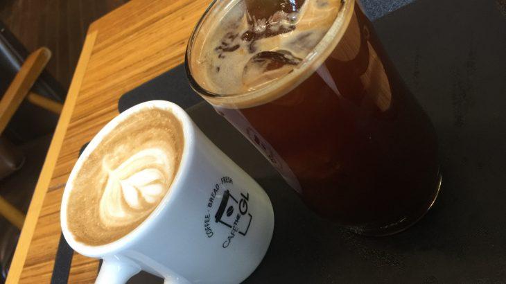 """弘大(ホンデ)のALANDの前にある広々としたカフェ""""Cafe the GL"""""""