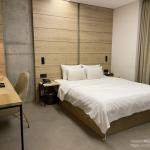 """韓国ホテル""""Hotel The Designers Premier Kondae""""*建大入口/オリニ大公園"""