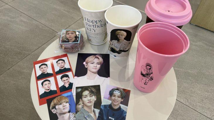 SHINeeキー 2021年 誕生日お祝いカップフォルダー①建大カフェ